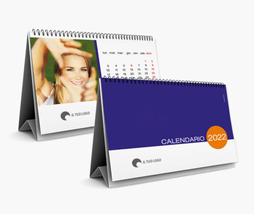 calendari tavolo personalizzati
