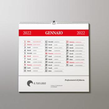 stampa calendario da muro