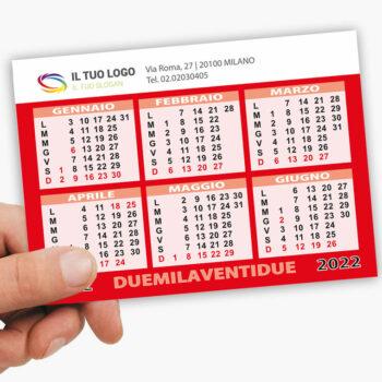 calendari tascabili personalizzati