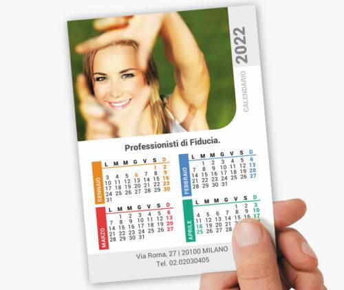 stampa calendari tascabili